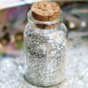 biodegradable silver glitter