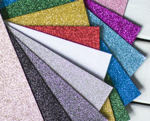 glitter for stationery and adhesive3