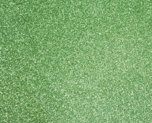 aluminum green glitter
