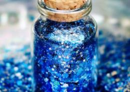 biodegradable blue glitter