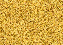aluminum gold glitter