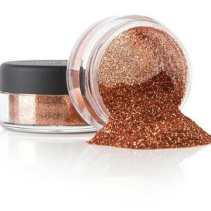 copper bronze glitter