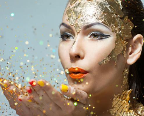 cosmetics glitter powder2